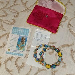 Nwt Angela Moore yoga girl bracelet